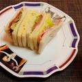 日々ごはん3回分まとめ記事☆レーズンデニッシュ&焼き鯖・ローストビーフサンドイッチ by みなづきさん