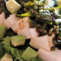 ★豆腐とわかめの韓国風サラダ(醤油ヤンニョムジャン)。 by いもさん