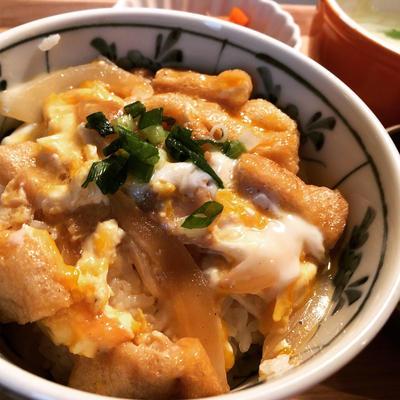 麺つゆで卵丼