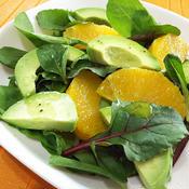 レモンの風味が爽やかな減塩春サラダ