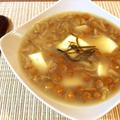 絶簡単。とても美味な塩昆布バターのなめこ豆腐生姜スープ。(糖質5.7g) by ねこやましゅんさん
