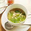 ロメインレタス&卵のスープ