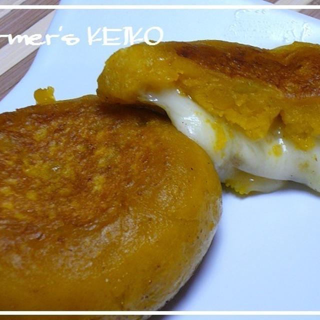 【農家のレシピ】かぼちゃ餅   ~チーズ&シナモンシュガー~