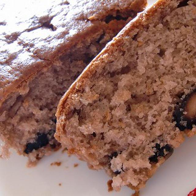 黒豆ケーキ(残った黒豆で)