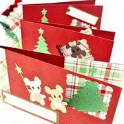 チューチュー♪ねずみのクリスマスカード 3種 〜Marianne Design Team ☆JP☆~