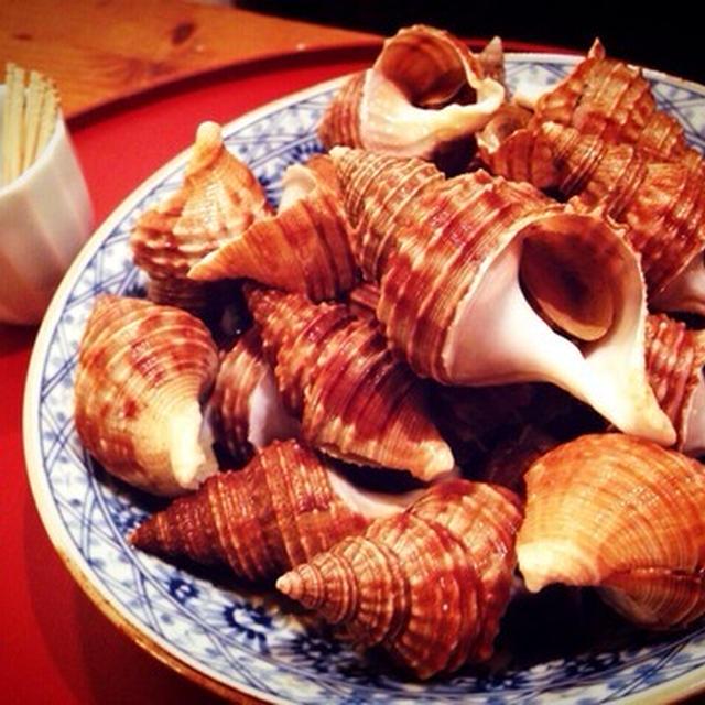 つぶ貝の煮つけ〜唾液腺捜査隊の巻(笑)
