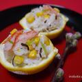 広島レモンのちらし寿司