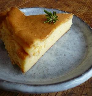 酒粕のチーズケーキ♪