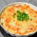 超簡単、里芋のキムチー焼き。ほくほくねっとりな里芋でお酒が進むひと品。 by akkeyさん