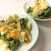 ブロッコリーとゆで卵のスパイシーサラダ