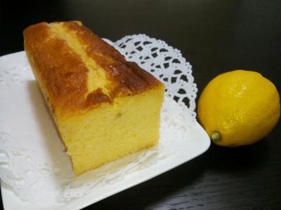 混ぜるだけ!!しっとり♪レモンケーキ☆