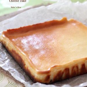 美容にも◎♪香り&コクたっぷり「酒粕チーズケーキ」