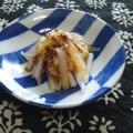 大根の粒マスタードサラダ