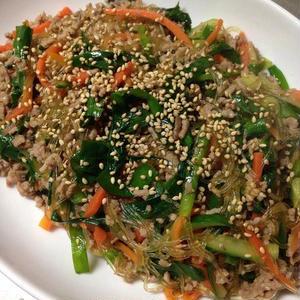 春雨でボリュームアップ!「チャプチェ」でおいしく野菜を摂ろう♪