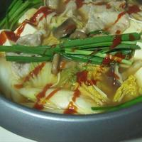 キムチチゲ・モランボン「PREMIUM鍋」〆はお餅