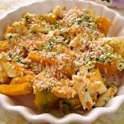 「かぼちゃの味噌マヨサラダ」
