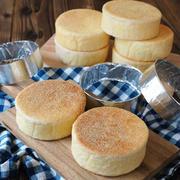 おうちで手作りパン!イングリッシュマフィンを作ってみよう♪