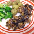 鶏手羽元のバルサミコ&グレープフルーツ煮
