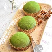 【レシピ】栗いっぱい!抹茶クリームチーズ大福