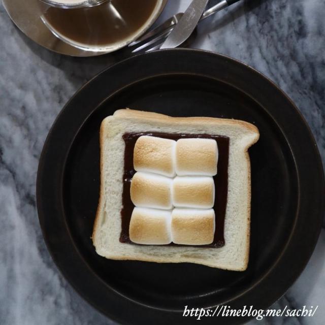 スモアトースト♡【#簡単レシピ#トースト】