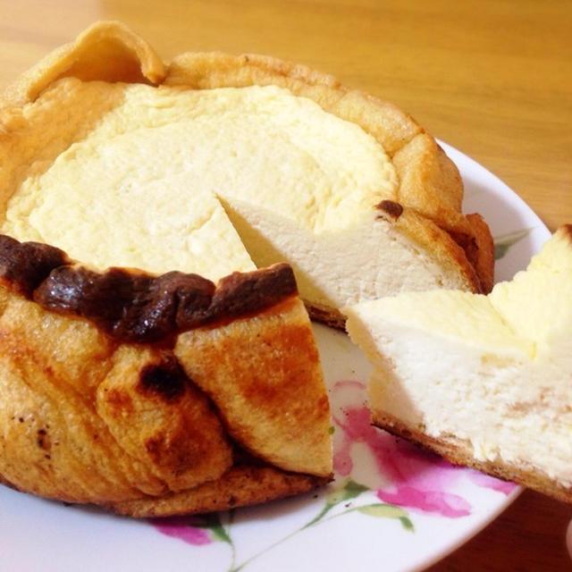 鍋で焼く糖質制限チーズケーキ