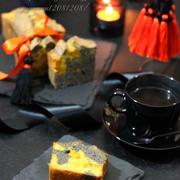 《レシピ》ごろっとかぼちゃと黒ごまのパウンドケーキ。