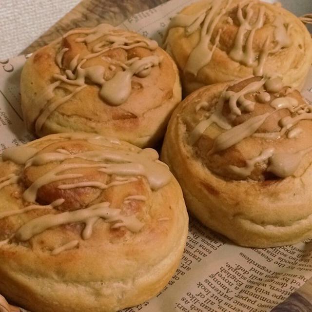 カフェ・オ・レ シナモンロールパンと文化祭