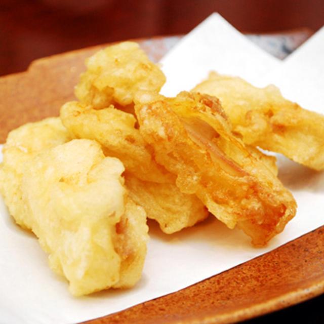 鶏三角の天ぷら