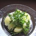 土佐文旦と水菜の朝☆サラダ