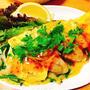 楽する夕食1週間献立、4日目。牡蠣のバインセオ風、簡単アジアン料理。