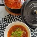 甘・辛・すっぱの白菜スープ