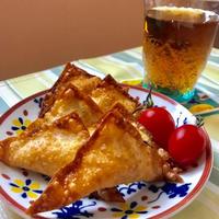 【揚げ時間30秒】残ったポテトサラダで!ポテサラチーズ揚げレシピ(*^^*)