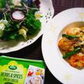 低糖質レシピ☆シーフードクリームチーズパスタ by メロン(食いしん坊料理家 鈴木沙織)さん