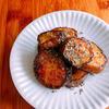 茄子のとろりんソテー、バジル風味