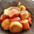 【レシピ】ガッツリ味★里芋のガリバタ炒め
