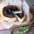 混ぜて焼くだけの、贅沢過ぎるレシピ。『豆王バスク風チーズケーキ』