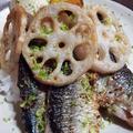 秋刀魚のパエリア