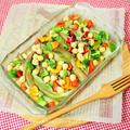 ナスとひよこ豆のエスニック風マリネ