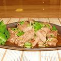牛肉の塩麹ステーキわさびポン酢♪ by santababyさん
