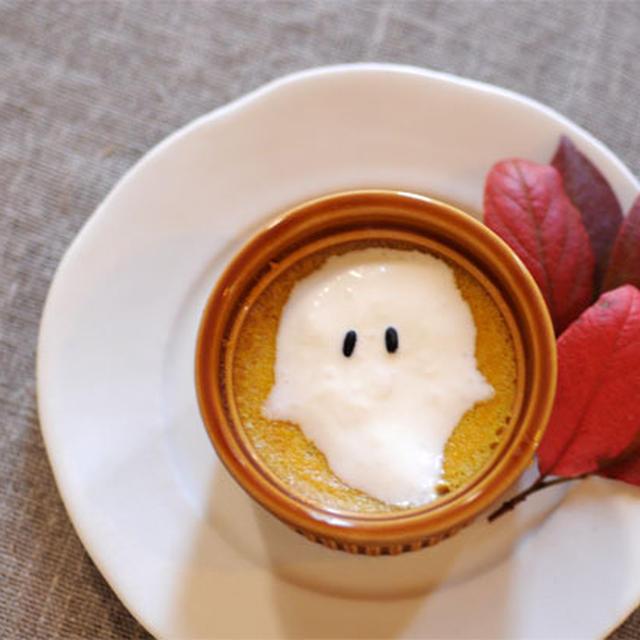 ハロウィン★かぼちゃプリン