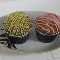 バニラ風味カップケーキ