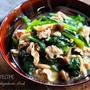 ♡あっさりコクうま♡豚肉と小松菜の塩あんかけ♡【#簡単レシピ#時短#節約】