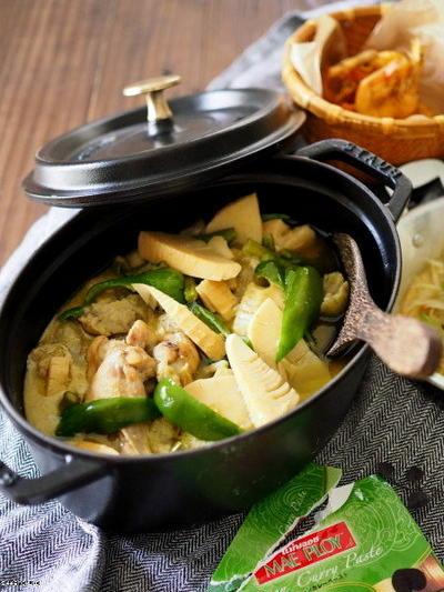タイ料理は好きなんです、グリーンカレー。