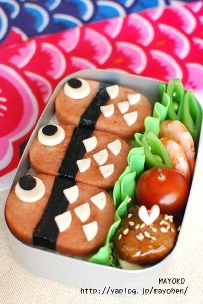 こどもの日にオススメ☆もう1つの簡単こいのぼり弁当♪
