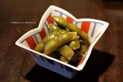 枝豆の【東煮】