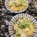 ブロッコリーと卵のごまマヨサラダ