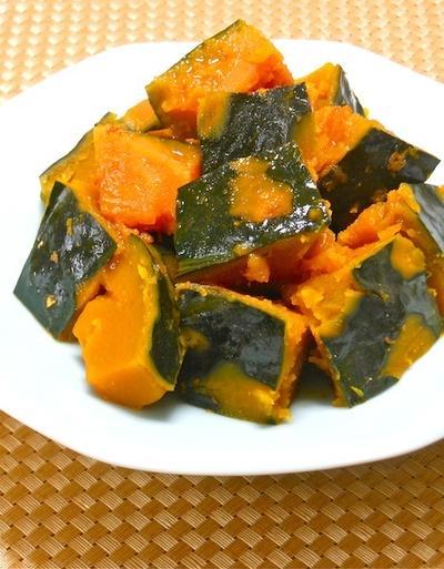 あると嬉しい作り置きのおかず〜自然の甘みが美味しい家醸本みりんでかぼちゃの南蛮煮。
