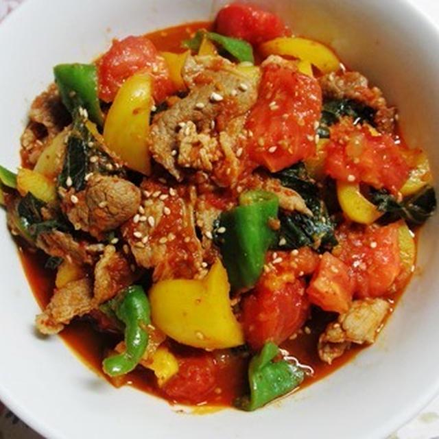 まだまだコウさんシリーズ★豚肉と野菜のプルコギ