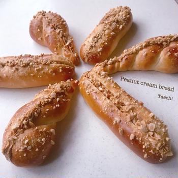 【イーストレシピ】ピーナツクリームパンとピーナツの効能