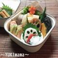 秋鮭の醤油糀漬けソテーアボガドマスクリソース添えのお弁当 by YUKImamaさん